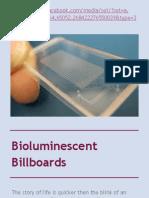 Bioluminescent Billboards