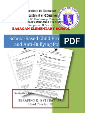 School-Based Child Protection and Anti-Bullying Policies