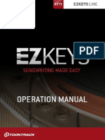 EZkeys Operation Manual