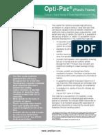 Opti-Pac Plastic Frame