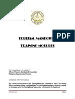 Tourism Manpower Training Modules