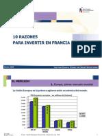Razones Para Invertir en Francia