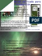 Admon Agropecuaria, 2010