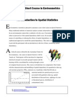 An Introduction to Spatial Statistics-EA