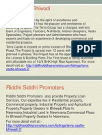 Terra castle bhiwadi by Riddhi Siddhi Promoters