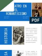 El Teatro en El Romanticismo