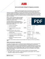3BHS230517 E01 - Main Circuit Breaker Design for VSD