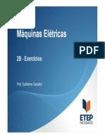 Maquinas Elétricas 2B Exercíciospdf