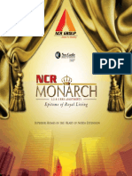 NCR Group Launched NCR Monarch 1/2/3 BHK Flats/ Apartments in G. Noida West