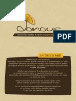 DANAUS - Catálogo de Productos