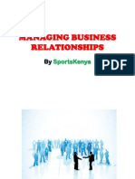 Managing Business Relationships - SK