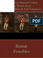 Military - British Army - Fencibles & Militia
