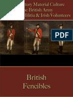 Military - British Army - Fencibles & Militia