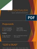 Existentialism Report Revised