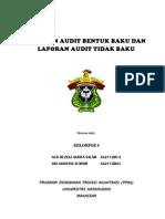 Laporan Audit Bentuk Baku