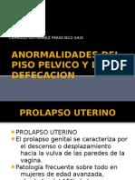 A Normal Ida Des Del Piso Pelvico y La Defecacion