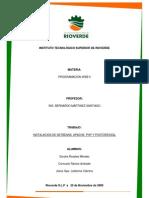 Instalacion de Netbeans y Postgres