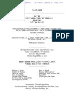 Fox v. Dish - Reply Brief of Plaintiffs-Appellants