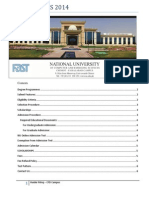 Admission Guide 2014 FAST