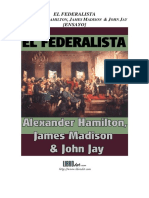 Livro - Os Federalistas - Espanhol