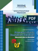 UF15 Educación Primaria Comunitaria