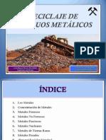 1. Reciclaje de Residuos Metálicos