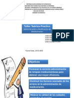 Taller de Adminitracion de Medicamento Unefa Marzo 2014