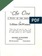 DeWaters-TheOne