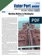 CT  Deep Water Port notes June 2014