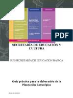 Guia Para Elaborar La Planeacion Estrategica 2013-2014 (1)