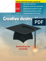 The Economist  - Reinventing the university (June 28th)