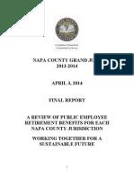 Napa County (CA) Civil Grand Jury Report