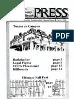 The Stony Brook Press - Volume 8, Issue 4