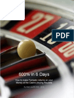 600 percent in 6days black jack system eBook