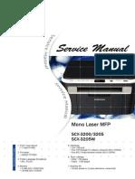 Service Manual SCX-3200 Series