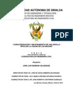 CARACTERIZACIÓN Y MEJORAMIENTO DE UNA ARCILLA TÍPICA DE LA CIUDAD DE LOS MOCHIS, Ing. José Luis Barrón..pdf