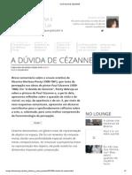 A Dúvida de Cézanne