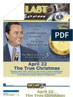 THE LAST REFORM 8th Edition (The official newspaper of the Man Christ Jesus)