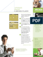 18. Upgrading the Archos Operating System