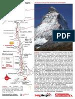 Hoernligrat Matterhorn Tourenbeschreibung Topo
