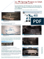 Poster-Education on Oil Sands Mining & Processing