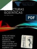 Fundamento de La Estructura Estructuras Isostáticas