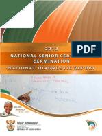 NSC 2013 Diagnostic Report