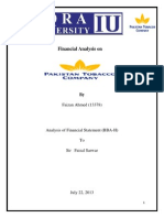 Analysis of financial management