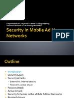 securityinmobileadhocnetworks-130201071944-phpapp02