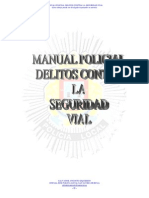 DELITOS SEGURIDAD VIAL Manual Salvador Angosto Jefe San Javier