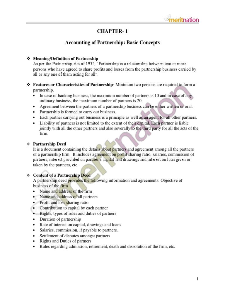 Accounting for partnership basic concepts partnership debits accounting for partnership basic concepts partnership debits and credits platinumwayz