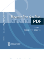 11th Five Year Plan 2007-12, India, Inclusive Growth