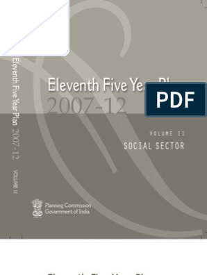 11th Five Year Plan 2007-12, India, Social Sector | Primary