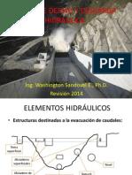 Obras de Desvío y Descarga Hidráulica (2014) - Presentación (40)
